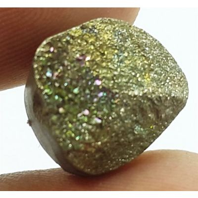 6.99 Carats Natural Spectro Pyrite Druzy 11.76 X 10.54 X 6.90 mm