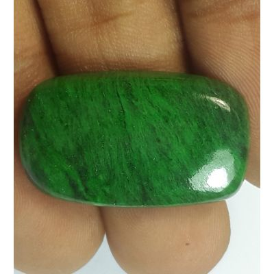 21.59 Carats Natural Jadeite Jade Rectangular Shaped 26.47x15.80x5.85 mm