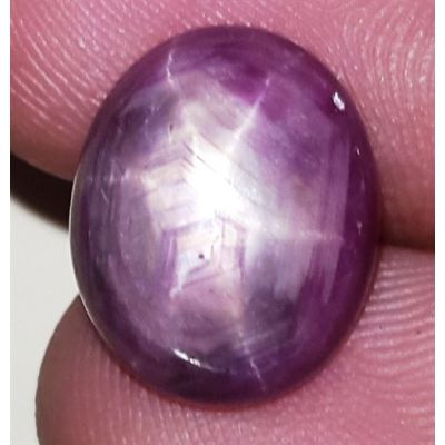 10.48 Carats African Star Ruby 13.83x11.36x5.86 mm