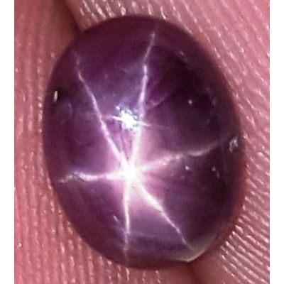 1.96 Carats African Star Ruby 7.86x5.91x3.77 mm