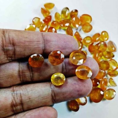 African Yellow Sapphire  Wholesale Lot Gemstone